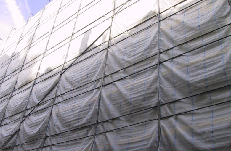 Dust protection nets 130 g/m² Netten
