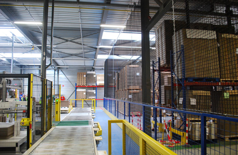 Warehouse separation nets Netten